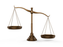 Bronze Law Scale