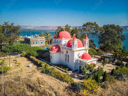 Fotografia Capernaum church view