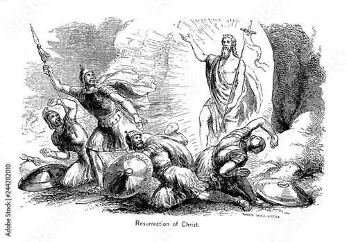 Obraz na plátně  Resurrection of Christ.