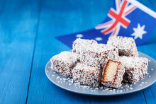 Traditional Lamington Cakes Or...