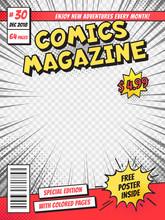 Comic Book Cover. Comics Books...