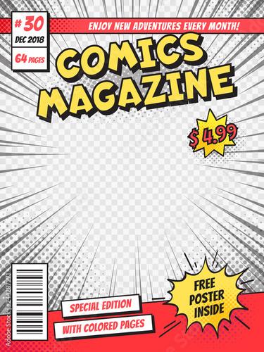 Fotografía  Comic book cover