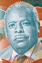 Errol Barrow Portrait From Barbadian Dollars