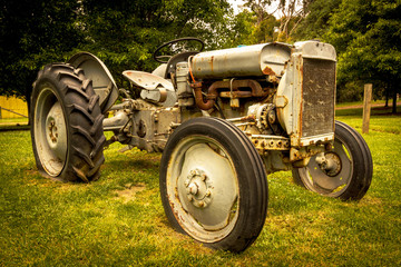 Old tractor on Mornington Peninsular