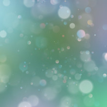 Abstract Defocused Of Blue Green Bokeh With Dust. EPS 10
