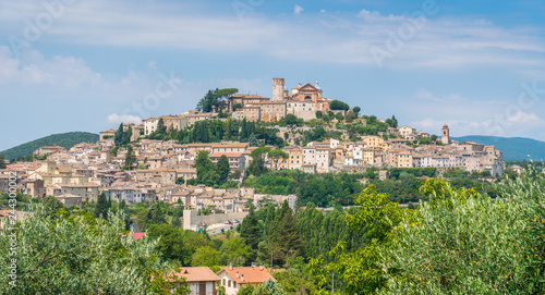 Photo Amelia, ancient and beautiful town in the Province of Terni, Umbria, Italy