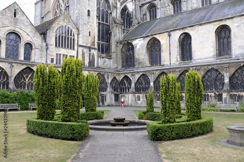 Fototapeta Jardín de la Abadía de Gloucester