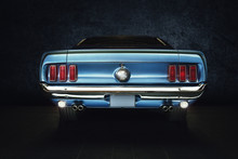 Mustang Ford Oldtimer - Classi...