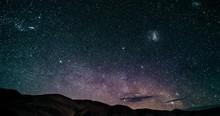 Time Lapse, Milky Way Above Salar Pocitos, Argentina