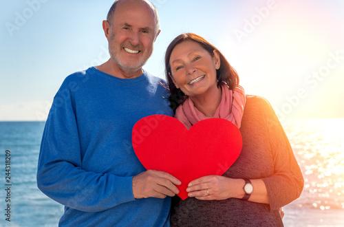 Fotografie, Tablou old couple in love
