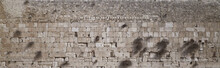 Western Wall, Old City Of Jerusalem, Israel - Panoramic View