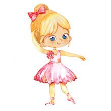 Blond Ballerina Princess Chara...