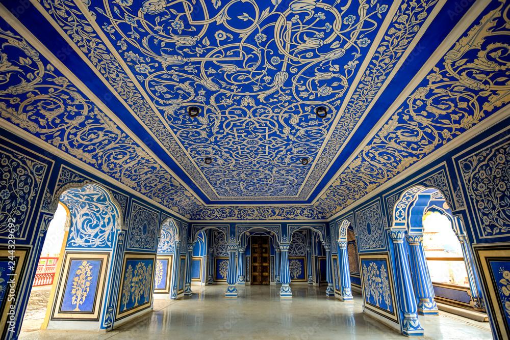 Fototapety, obrazy: Jaipur City Palace, Rajasthan, India