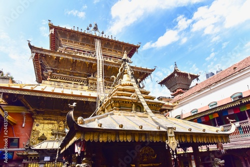 Foto  Hiranya Varna Mahavihar or the Golden Temple Near Patan Durbur Square