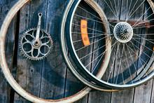 Bicycle Old Wheels