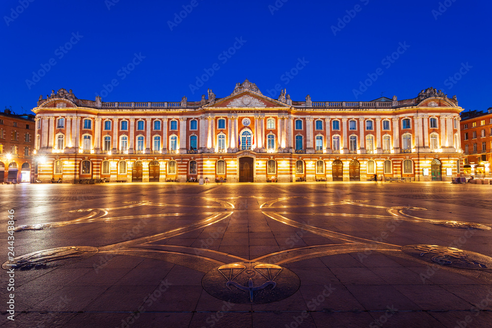 Fototapety, obrazy: Capitole or City Hall, Toulouse