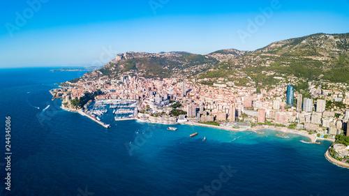 Photo Stands Egypt Monte Carlo, Monaco aerial view