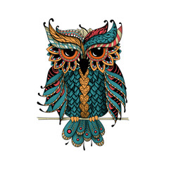Dudling Owl in color