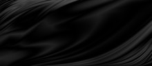 Black Luxury Fabric Background...