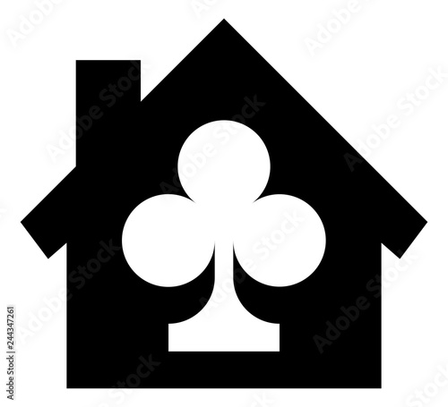 Fototapeta Clubhouse Gaming Vector Icon