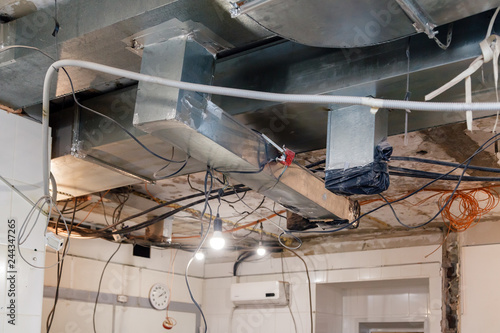 Cables Installed in Suspended Ceilings