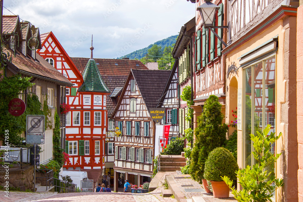 Schiltach in Black Forest, Germany