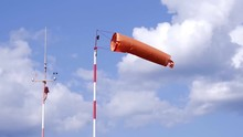 An Orange Windsock