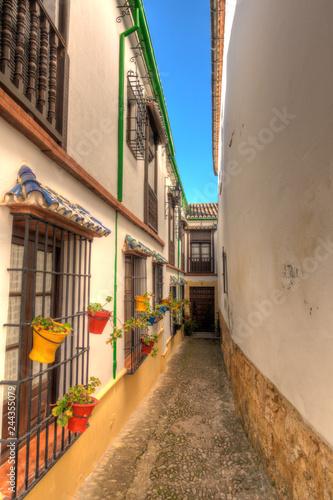 Keuken foto achterwand Smal steegje Ronda, Andalusia, Spain