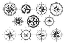 Vintage Compass. Nautical Map ...