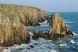 Küste in der Bretagne, Frankreich
