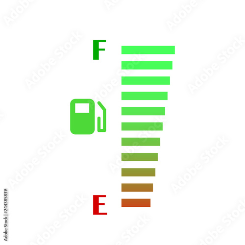 Fuel gauge vector design - Buy this stock vector and explore