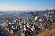 Nottingham Landscape. Cityscap...