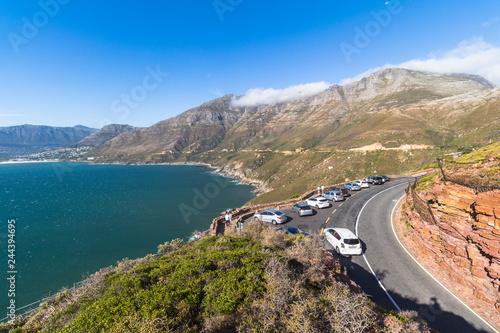 Printed kitchen splashbacks Coast View on high coast of chapmans peak drive, Cape Town