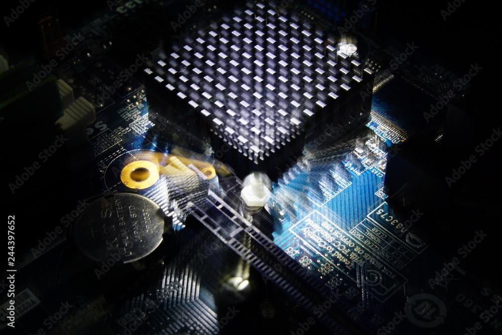 Photo & Art Print Thermal labs - overheating bios batterie