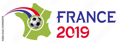 FRANCE 2019 Canvas-taulu