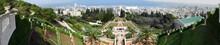 The Panoramic View Of The Bahai Gardens • Haifa, Israel