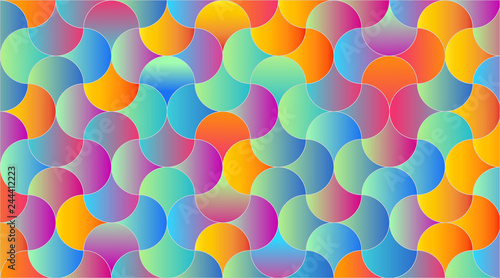 Gradient background for your design - Vector - Pieces in a Puzzle
