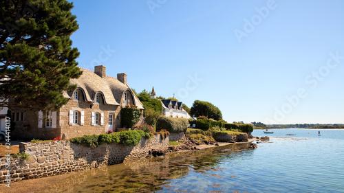Fotografie, Obraz  Village de Saint Cado > Morbihan > Bretagne > France