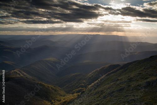 Foto op Plexiglas Oceanië Mt Buller Sunset