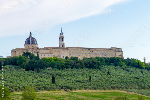 Fototapeta Loreto view, Marche, Italy obraz
