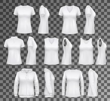 Female Clothes T-shirt, Hoodie And Women Underwear