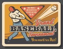 Baseball Sport Match Invitatio...