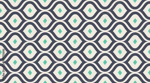 Seamless pattern geometric. Delicate beautiful ornament. Geometric fashion fabric print. Seamless vector pattern.