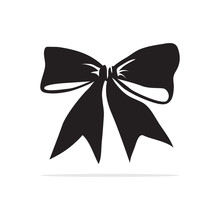 Bow Tie Icon. Vector Concept I...