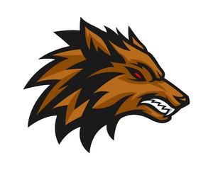 Wolf head 3