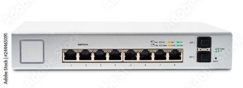Fotografie, Obraz  Network switch