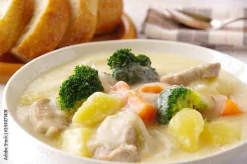 Poster Klaar gerecht クリームシチュー シチュー 煮込み料理
