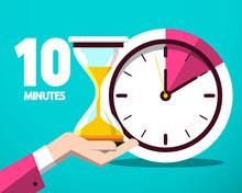 Ten 10 Minutes Counter Clock A...