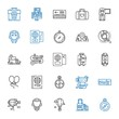 journey icons set