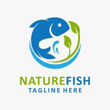 Nature Fish Logo Design